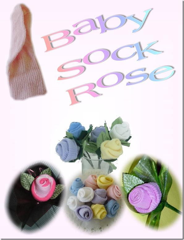 poster-baby sock rose