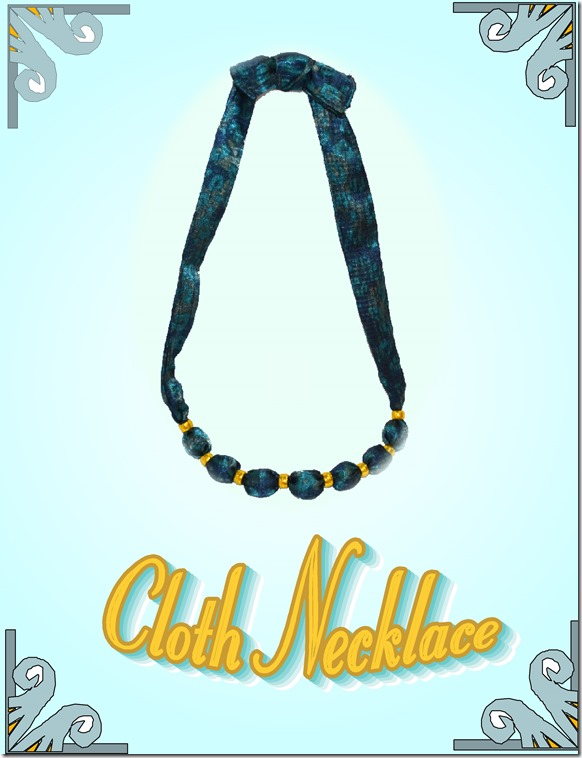 cloth necklace 2014