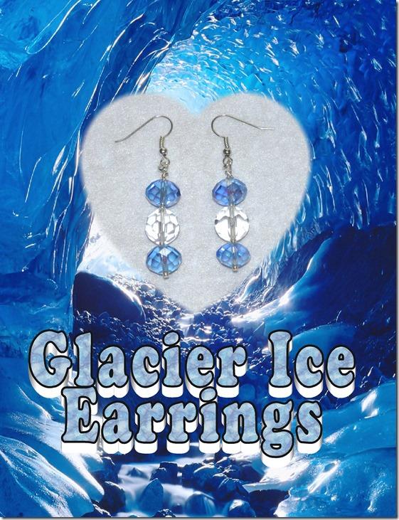 Glacier Ice earrings