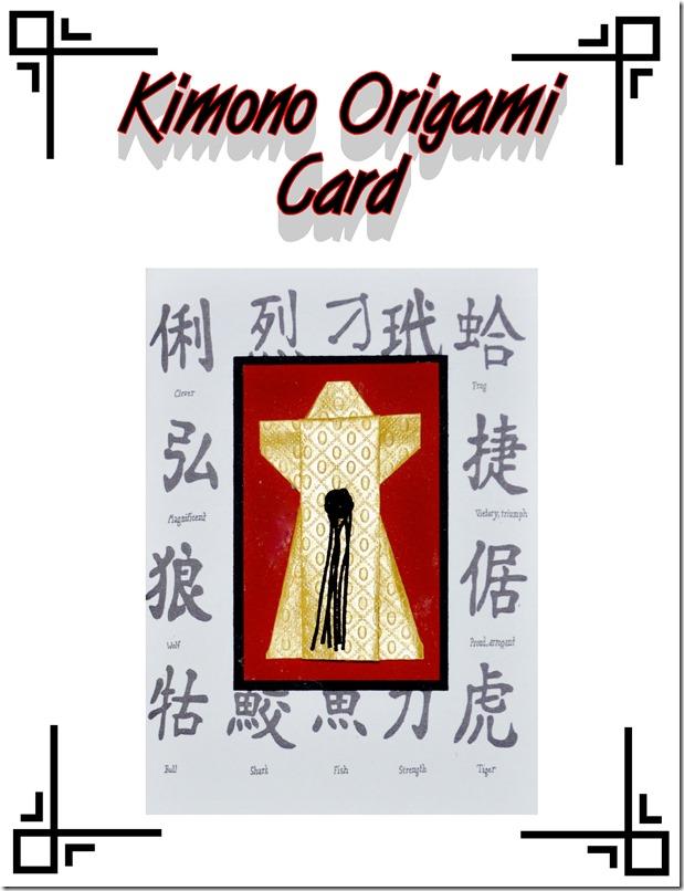 kimono orgami