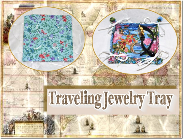 traveling jewelry tray