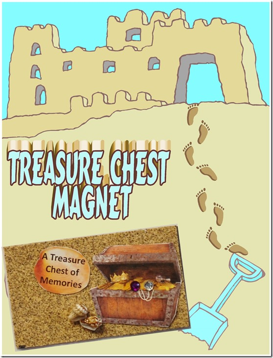 treasure chest magnet