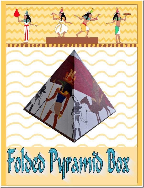 box folding pyramid