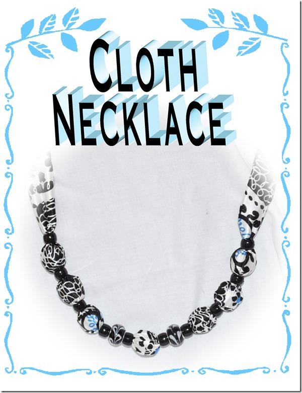 cloth necklace
