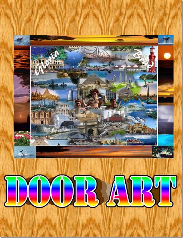 DOOR ART WC