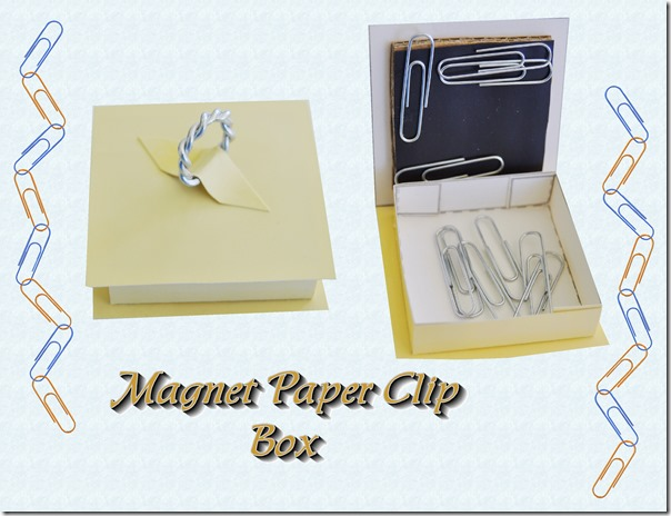 magnet paperclip box