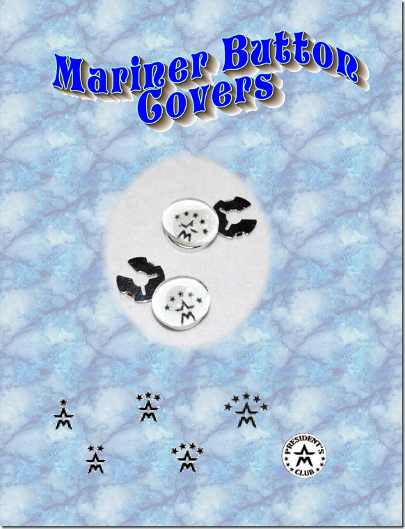 mariner button covers
