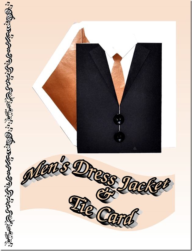men's dress jcket & tie