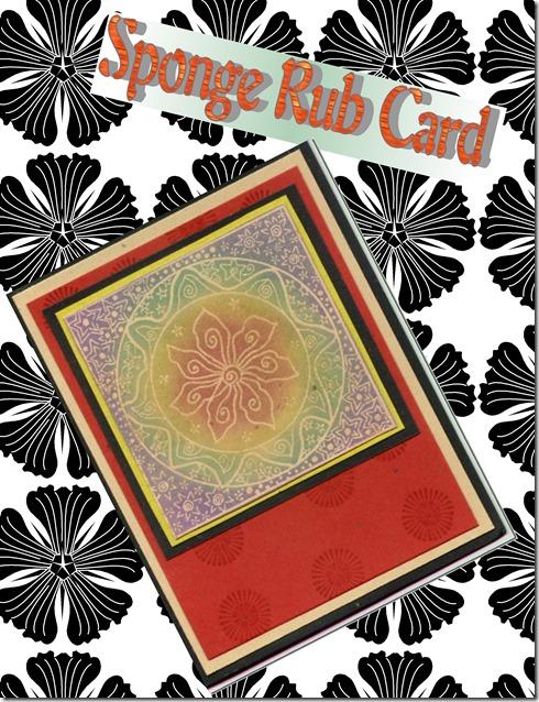 sponge rub card